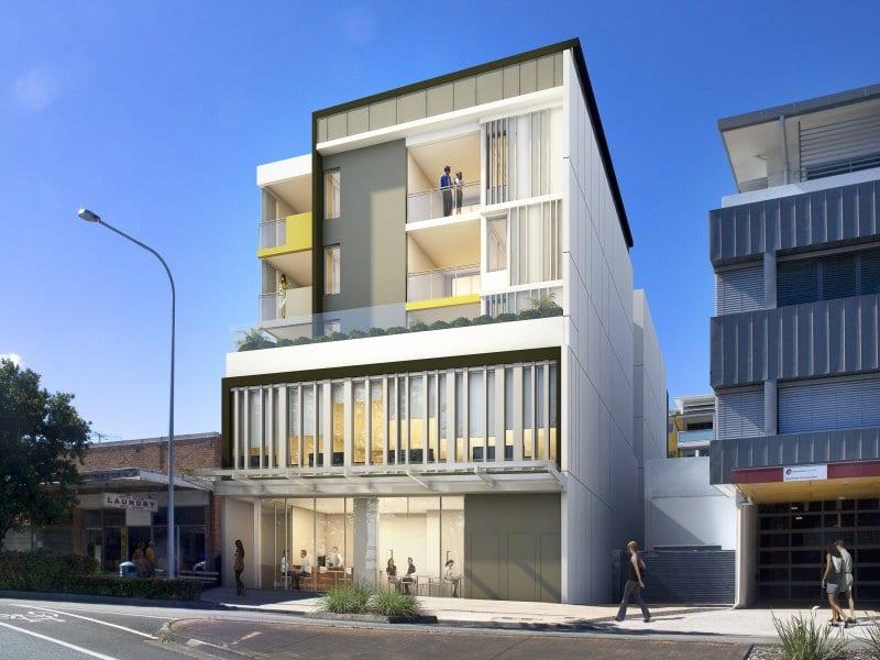 Concept of apartment block