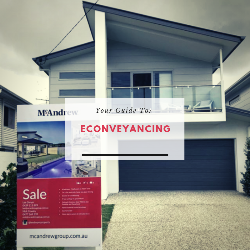House for sale with econveyancing in a box