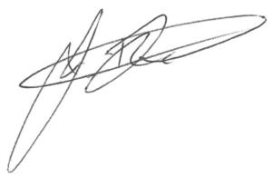 Signature of Joel McAndrew
