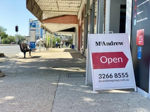 McAndrew Law Sign